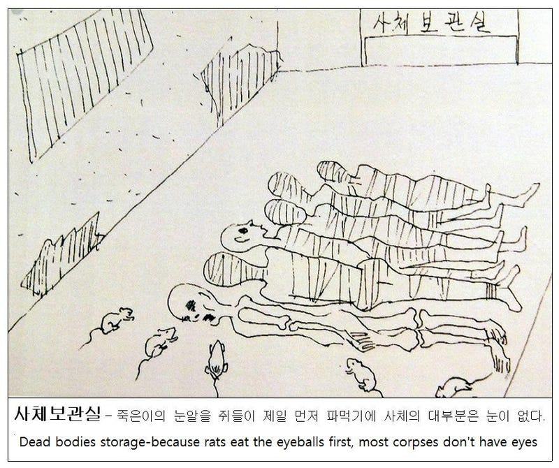 Defectors' Drawings Offer Rare Look at Brutal Life Inside North Korean Concentration Camps