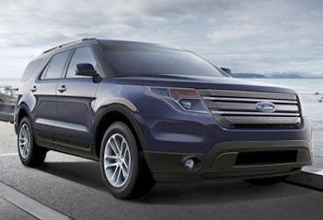 This Is The 2012 Ford Explorer