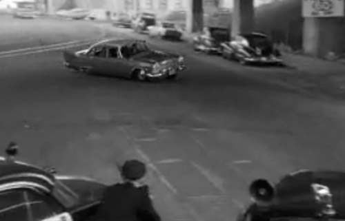 1957 Plymouth Leads 1957 Dodge On Crazed San Francisco Car Chase