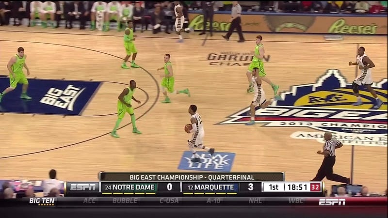 Notre Dame's Uniforms Make Us Wish HDTV Had Never Been Invented