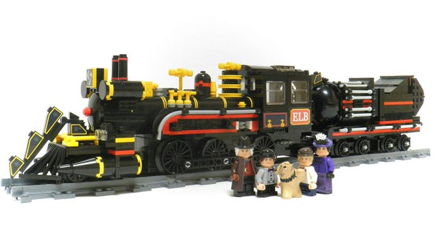 The Lego Back to the Future Time Machine Train Is a Must Have