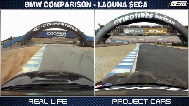 Comparing a Beautiful Racing Game With... Real Life