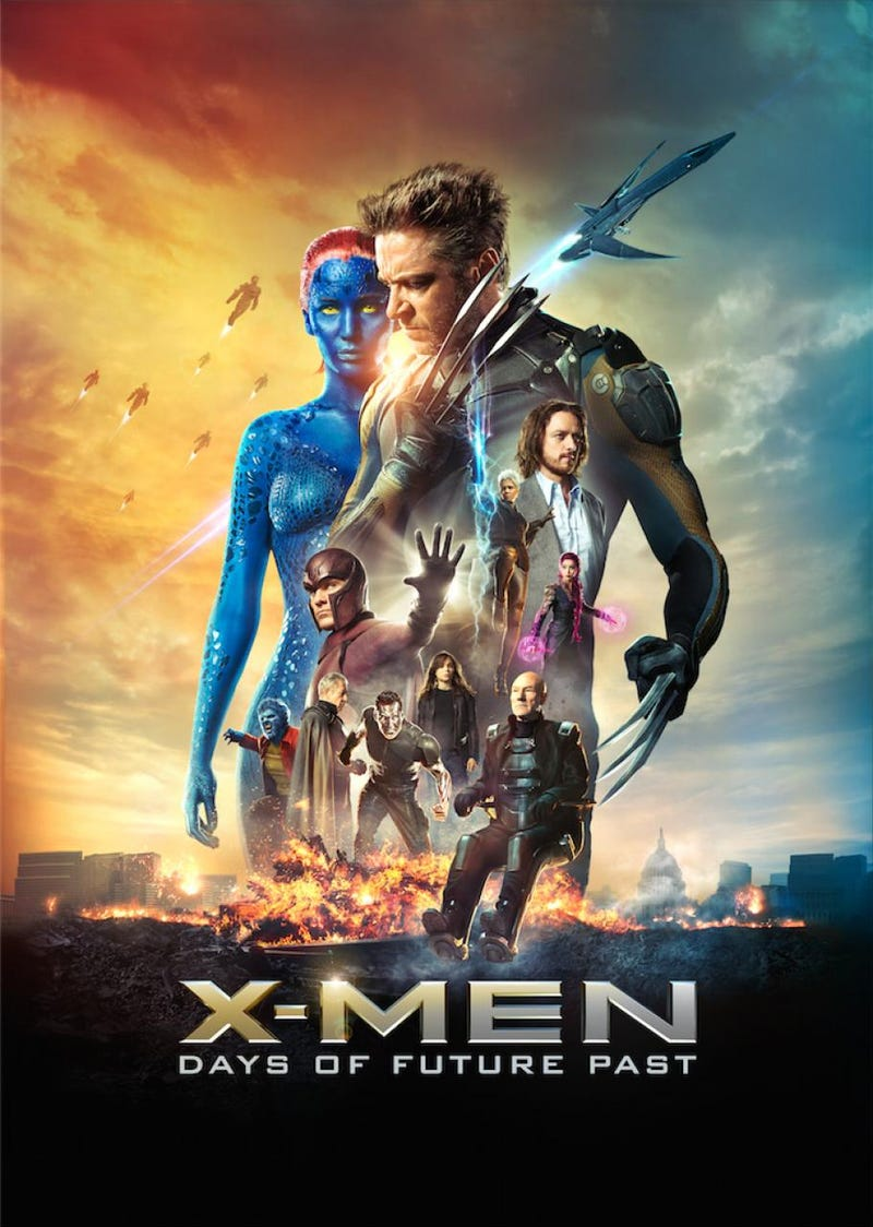 The terrible poster for X-men movies trend continues...