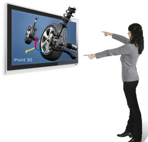 iPoint 3D Lets You Control a 3D Display Using Only Hand Gestures