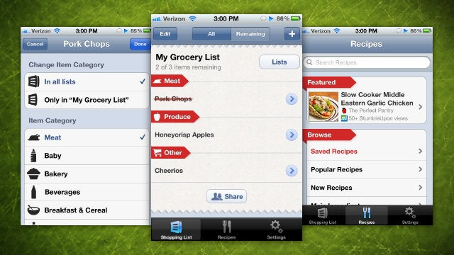 AnyList Makes Shared Grocery Lists Simple and Intuitive