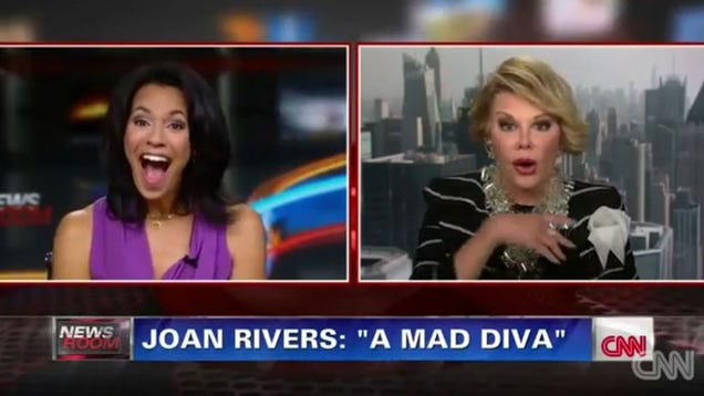 Joan Rivers: I Stand By My CNN Walkout