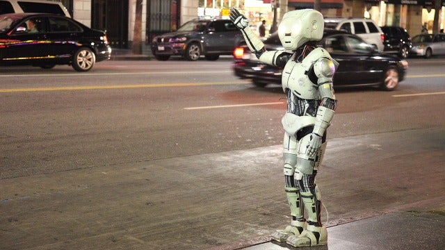 Rash of robot sightings could be a sign of the impending robopocalypse — or an elaborate hoax