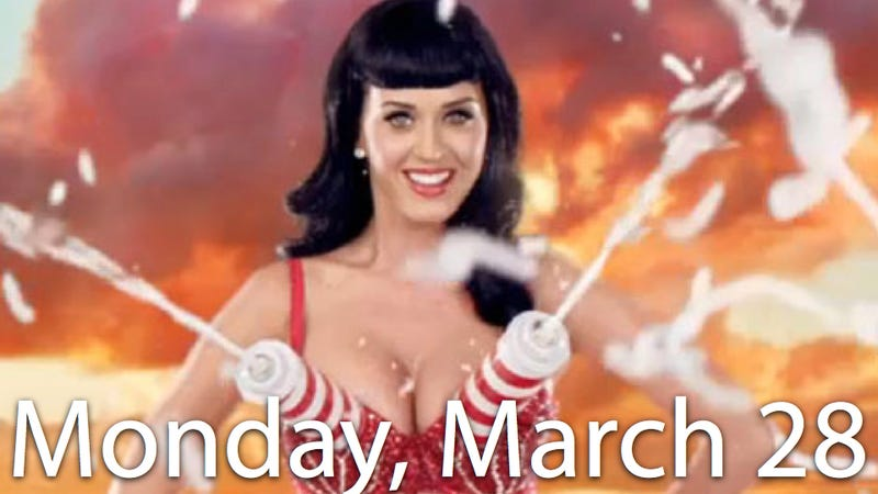 Katy Perry's Boobs Traumatize Her Mom