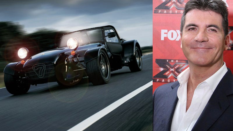Simon Cowell Picked The Best Car Imaginable To Drive Around L.A.