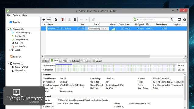 The Best BitTorrent Client for Windows