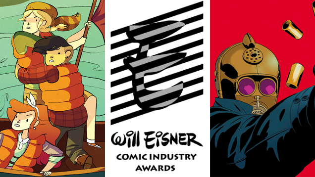 Here Are Your Eisner 2015 Winners!