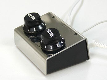DJ4: Two-Source Mixer Has Two Big Knobs, Doesn't Go Up to 11