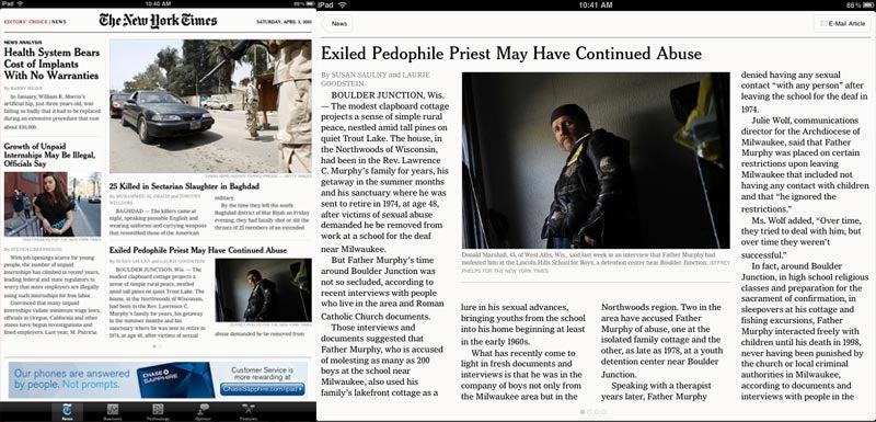 iPad News Apps