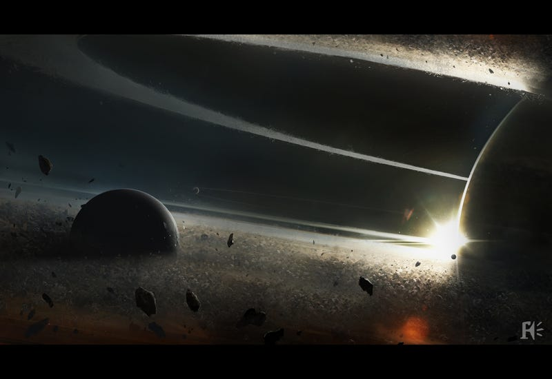 Planetscape Paintings from an Interstellar Journey