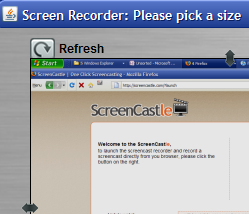 ScreenCastle Records Your Screencast without Software