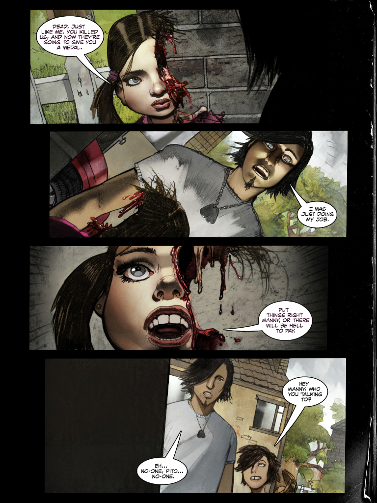 Comic Book from Writers of Hitman: Absolution Isn't What You'd Expect
