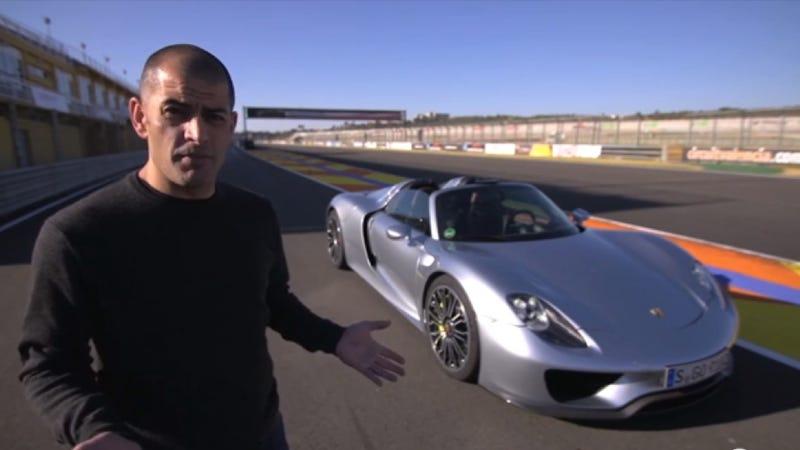 Jealousy Is Chris Harris Driving A Porsche 918 Spyder