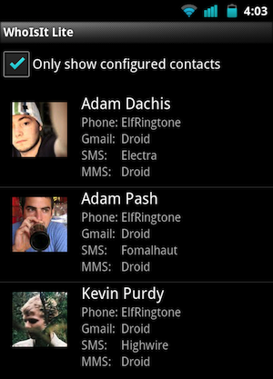 WhoIsIt Creates Contact-Specific Ringtones and Vibration Patterns on Android
