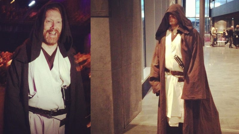 And now, the mayor of Iceland's capital dressed as Obi-Wan Kenobi