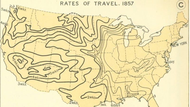 Next Time You're Bitching Long Road Trips, Remember That It Used To Take Weeks To Get Anywhere