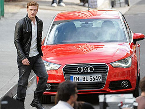 Audi A1 Caught Bringing Sexy Back With New Best Pal Justin Timberlake