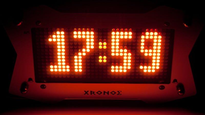 Arcade Alarm Clock: The Konami Code Won't Buy You More Shuteye