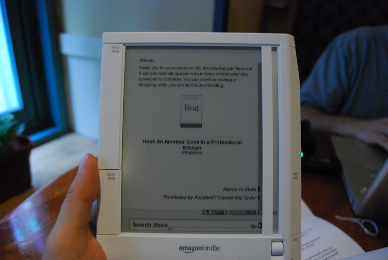 Amazon Kindle Hands-On and Questions Answered (Gallery)