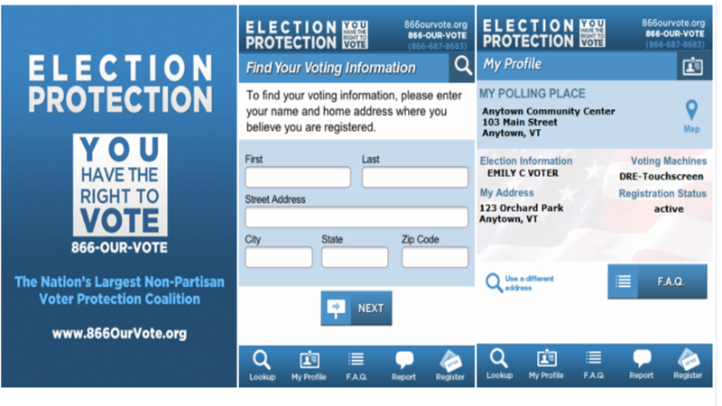Everyone Should Download the 'Election Protection Smartphone App'