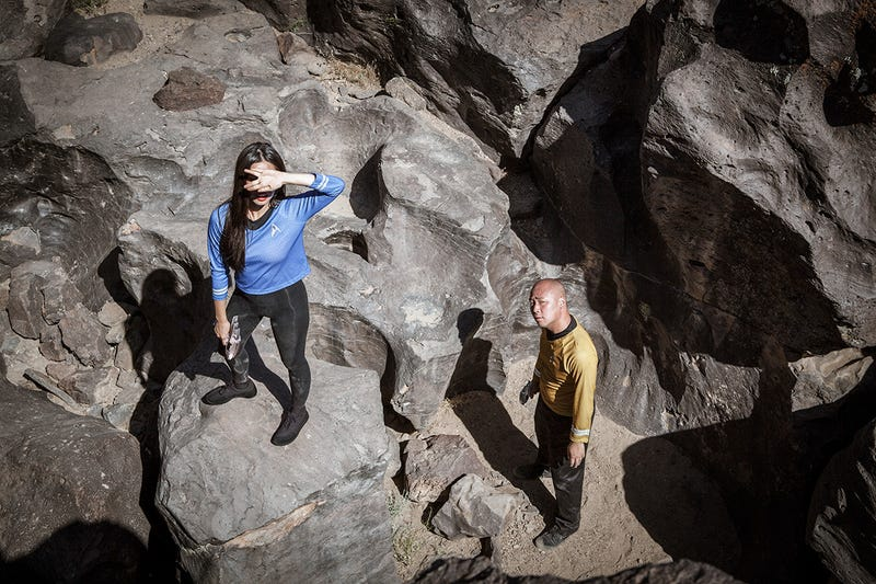 These Are the Silliest Star Trek Reenactments We've Seen in Ages