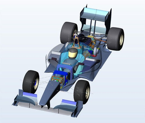 USF1 Type 1 Rendered, Europe Put On Notice