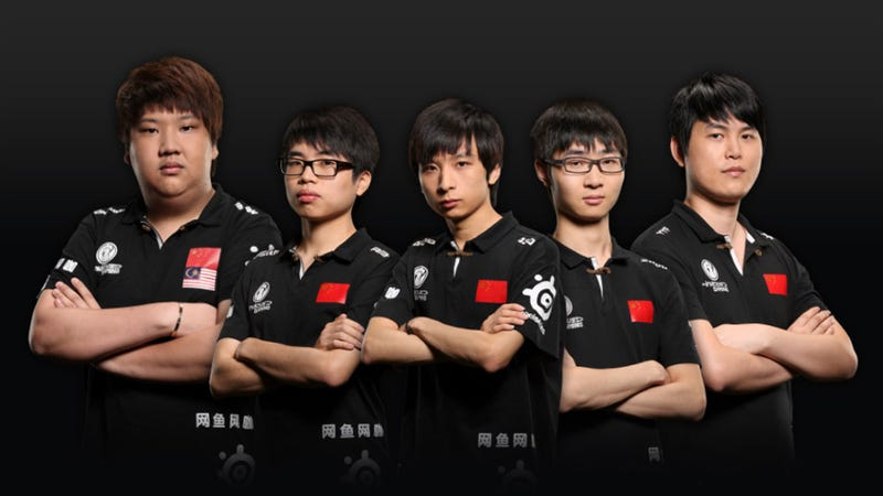 Chinese Players Call Out International DotA Players: China's The Best