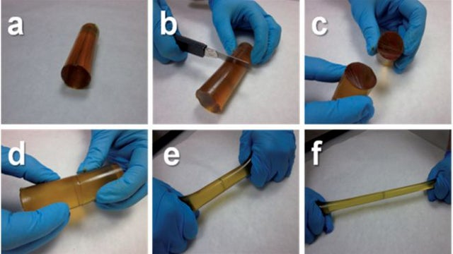 An incredible new polymer that heals itself to 97% efficiency