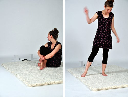 Carpet Radio Requires Human Body To Function