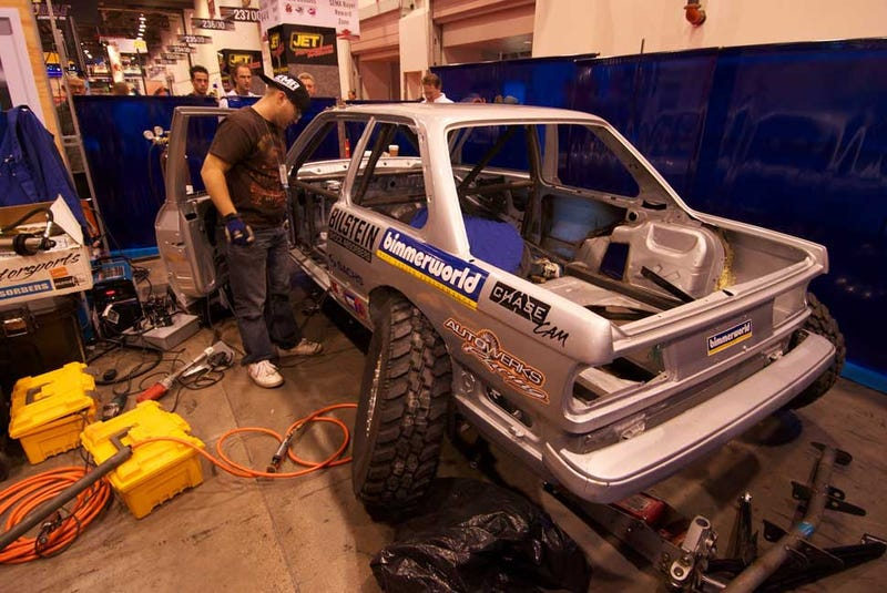 The BMW E30 Craigslist Baja Car Does SEMA