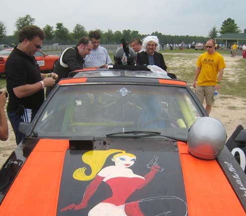 Innovations In The 24 Hours Of LeMons Penal System: The Chemical Ali!