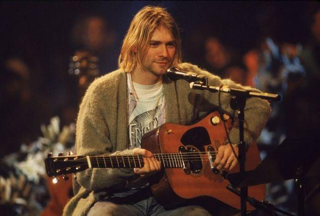 "Newly Revealed Kurt Cobain Note: Courtney Love a ""Bitch With Zits"""