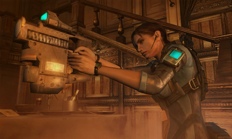 Let's Look at Resident Evil: Revelations Screens. Together!