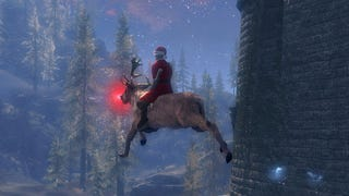 Santa Is Trying To Deliver Presents To Everyone In <i>Skyrim</i>