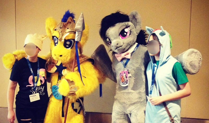 I Was the Weirdest Person at BronyCon 2014