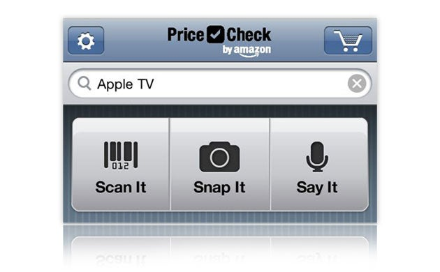 Amazon Price Check Searches Amazon.com Using Text, Your Voice, Photos, and Barcodes