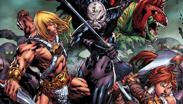 Exclusive preview of DC's He-Man #1 comic