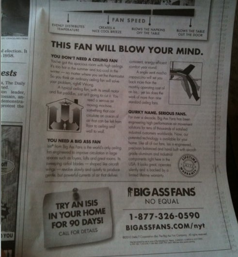 'Ass' Ad Makes Mockery of NYT's Claim to Family-Friendly Journalism