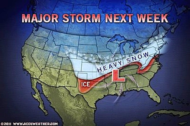 Accuweather.com Has the World's Most Terrifying Weather Maps