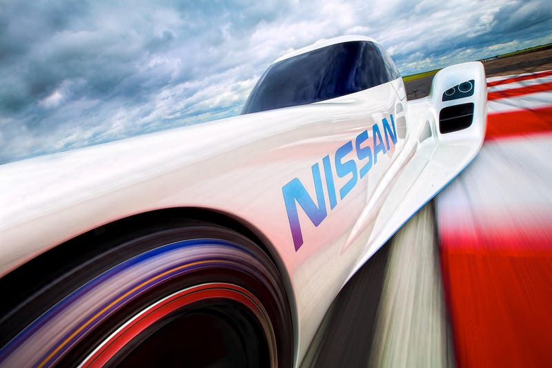Nissan ZEOD RC Is Definitely Not A Deltawing