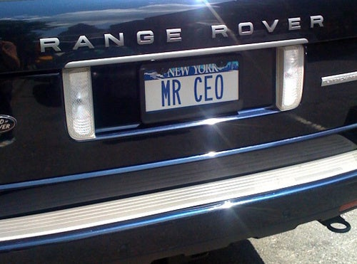 What Would You Drive If You Were A CEO?