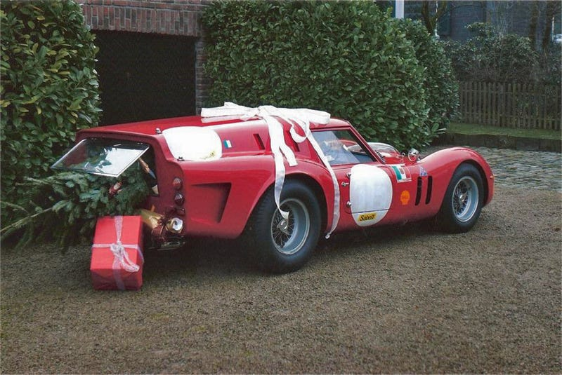 The Ferrari Breadvan, Santa's 300 HP Sleigh