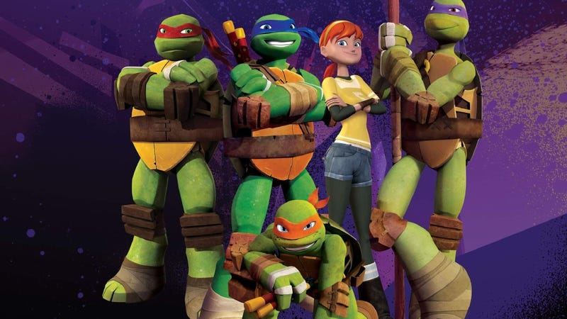 Animated Teenage Mutant Ninja Turtles Series Gets a Game in October