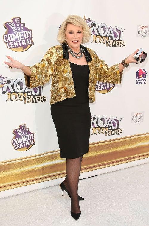 Fasten Your Seatbelts: The Joan Rivers Roast Was A Bumpy Night