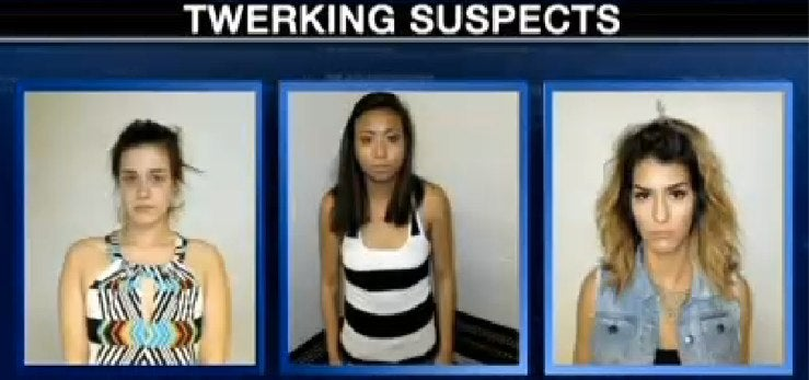 Twerking Suspects Apprehended, Charged With Drug Possession