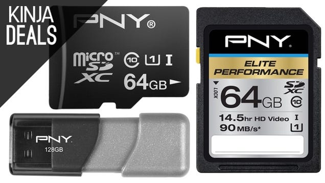 Save Big on Flash Drives, SD Cards, and More Today on Amazon